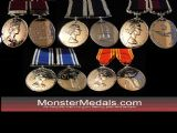 FULL SIZE REPLACEMENT LONG SERVICE MEDALS